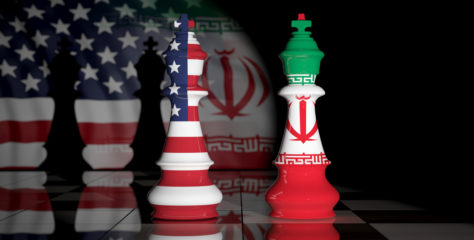 Iran-US Confrontation with Iraq in the Middle