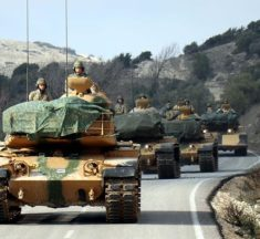 TURKEY GEARS UP FOR COUNTER-OFFENSIVE IN SYRIA